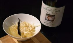 Moscato Roasted Pears