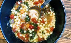 Minestrone Soup with Couscous